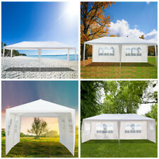 """10 x20"""" Party Tent Four Sides Waterproof Outdoor Gazebo Pavilion w/ Spiral Tubes"""