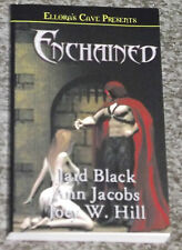 ENCHAINED EROTIC ROMANCE BOOK JAID BLACK JOEY W. HILL ELLORA'S CAVE NEW 3 IN 1 *