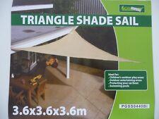 Sonnensegel Sonnenschutz Sonnendach Dreieck 3,6x3,6x3,6 m NEU