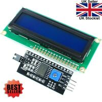 LCD Display Blue 1602 16X2 With IIC/I2C 1602 Serial LCD Module for Arduino