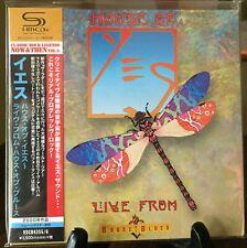 YES- Live From House Of Blues, Japan MINI LP 2 SHM CD w/OBI VSCD-4355~6 Rare OOP