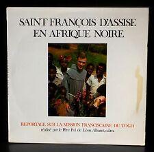 Autographed 1976 Pol de Léon Albaret St François d'Assise en Afrique noire