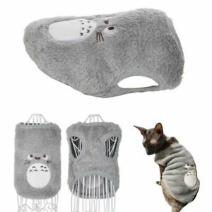 Kitten Coat Cat Clothes Spring Outfit Jacket Costume Warm Fleece Clothes Sphynx