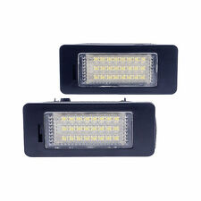 2x  LED License Number Plate Light Lamp For BMW 3 5 Series E39 E60 E61 E90 E92