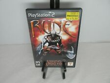 Rune Viking Warlord Sony PS2 PlayStation 2 Game Complete Tested Play Station