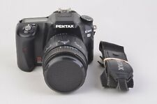 EXC++ PENTAX K100D 6.1MP DSLR w/SIGMA 28-90mm ZOOM LENS, SD CARD, STRAP, NICE!