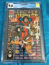 New Mutants #100 - Marvel - CGC 9.6 NM+ White Pages - 1st X-Force
