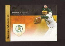 Dennis Eckersley--2012 Topps Golden Moments Baseball Card--Oakland Athletics