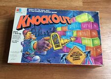 1991 Milton Bradley Knockout Board Game Complete Colorful W/ Directions