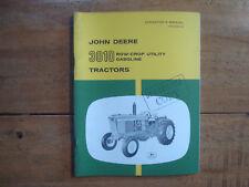 John Deere 3010 Row-Crop Utility Gasoline Tractors Operator's Manual