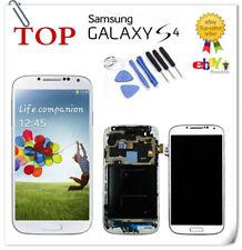 Bianco Samsung Galaxy S4 i9505 Display LCD Telaio Touch screen Schermo 5