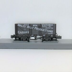 N Gauge Victoria Coal 7 plank wagon Limited Edition Peco - Brand New