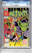 New Mutants #92 9.6 CGC W/P App...CARNIVAL...of..DEATH... Liefeld C & A