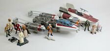 Star Wars REBEL ALLIANCE OTC Y-Wing 100% Complete Lot with Figures