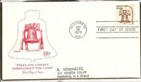 US SC #1618 13C.Coil stamps.Liberty Bell. Artmaster Cachet.