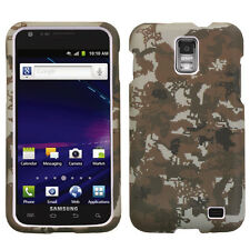 AT&T SAMSUNG GALAXY S2 SKYROCKET HARD SHELL CASE DIGITAL CAMO YELLOW