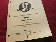 Oliver White 2-30 2-35 Tractor I&T Shop Manual