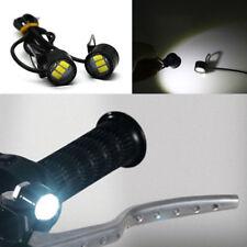 Moto Mirror Spotlight LED Handlebar Headlight Daytime Driving Fog Lamp Charming