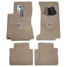 2008-2013 Cadillac CTS RWD - Sedan & Wagon - Floor Mats Light Cashmere 2ply FACE
