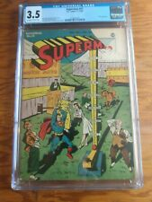 Superman 31  CGC 3.5  Lois Lane and Circus Cover   Luthor Appearance