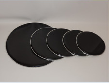 """NEW Black Rock Drum Head Pack 22"""" bass, 16"""", 13"""", 12"""" Toms, 14"""" Snare"""