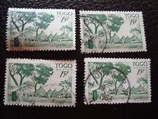 TOGO - timbre yvert et tellier n° 251 x4 obl (A33) stamp (Z)