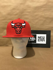 """Chicago Bulls New Era 9FIFTY """"Logo Grand Snap"""" Snapback Red/Black New With Tags"""