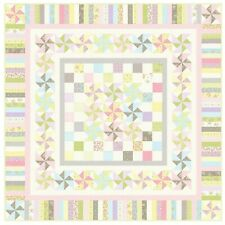 """Fairwinds Quilt Kit 88"""" x 88"""" with Moda Finnegan Fabric by Brenda Riddle"""