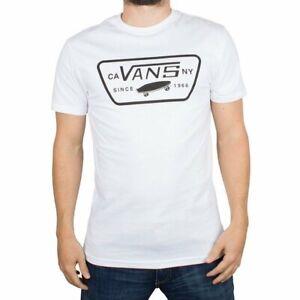 Camiseta Full Patch Vans Blanco Hombre
