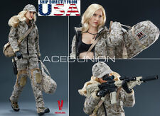 IN STOCK 1/6 Jessica Alba Camouflage Women Soldier Figure Full Set VCF-2030 USA