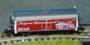 STUTTGART refrigerated wagon     by MARKLIN   Z Gauge     (B)