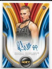 2020 Topps WWE Womens Division Blue Auto Rhea Ripley 14/25 A-RR