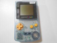 Z12332 Nintendo Gameboy Color Water blue TSUTAYA limited console GBC japan x