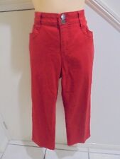 TARGET SIZE 14 RED CROPPED PANTS 'PERFEC'T