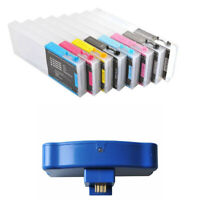 Refilling Ink Cartridge for Epson Stylus Pro 7880/9880 Printer + Chip Resetter