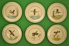Set of (6) Cyril Gorainoff Gamebird Plates