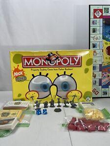 SpongeBob SquarePants Edition Monopoly Board Game Replacement Parts Pieces 2005