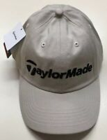 "TaylorMade Beige StrapBack Hat - New With Tags Golf Cap ""tmax gear"" Taylor Made"