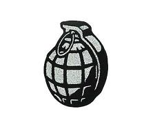 Patch ecusson brode backpack airsoft grenade tactical militaire biker motard