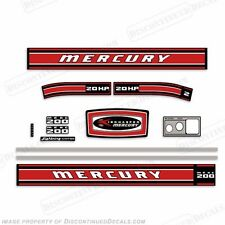 Mercury 1969 20hp Outboard Decal Kit - Reproduction Decals In Stock!