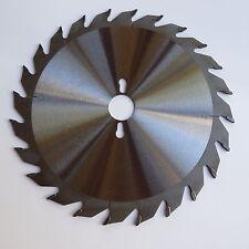 "10"" 24T Tct carbide circular rip saw blade for woodworking, laminate, veneered"