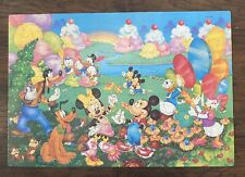 Disney Vintage Fantasy Poster Size Puzzle 300 Piece Complete Mickey Minnie Mouse