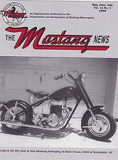 VOL. 14  NO. 1 1999 MUSTANG MOTORCYCLE NEWS magazine