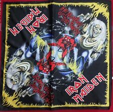 IRON MAIDEN The Number of the Beast BANDANA HEAD WRAP HANDKERCHIEF CD LP DVD