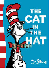 DR SEUSS THE CAT IN THE HAT Cross Stitch PATTERN
