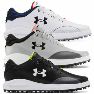 Under Armour Mens UA Draw Sport Spikeless Golf Shoes - Wide Fit / NEW 2021