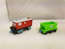 CHUGGINGTON INTERACTIVE TALKING IRWIN RED TRAIN AND RECYCLE TRUCK BUNDLE