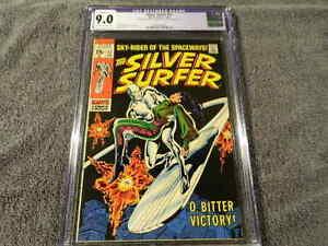 1969 MARVEL Comics SILVER SURFER #11 - STAN LEE Story - Stunning - CGC 9.0