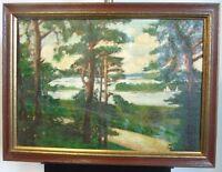 """Ernst Fröhlich 1880 - 1949 Berliner Landschaftsmaler """"Havelblick"""""""