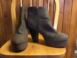 Brown Ankle Boots From Dune Size 6